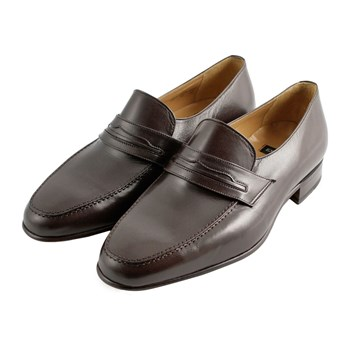 Leon - Mocassins en cuir - marron