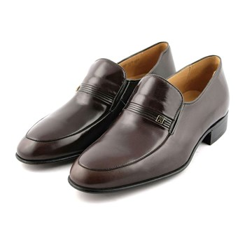 Mathias - Mocassins en cuir - marron