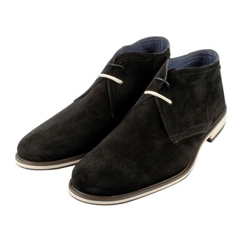 Jeff - Derbies en cuir - noir