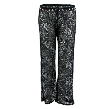 Banana Moon - Seethrough Stef - Pantalon - noir