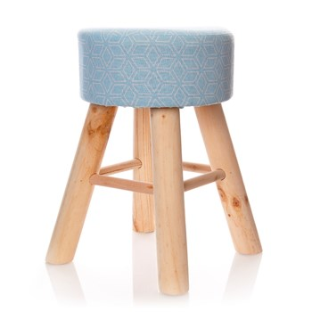 Home and Styling - Tabouret - bleu