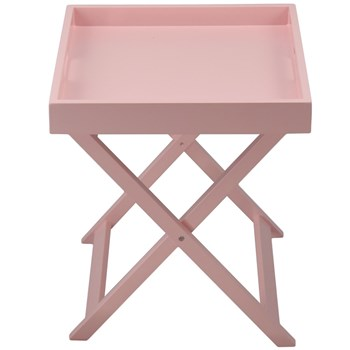 Colorama - Table plateau pliante - rose