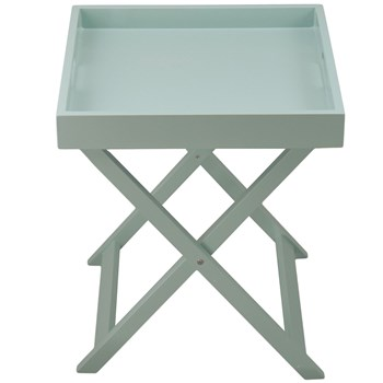 Colorama - Table plateau pliante - bleu