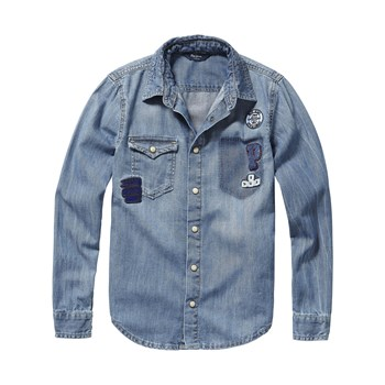 Pepe Jeans London - Karson 1973 - Camicia in jeans - blu jeans