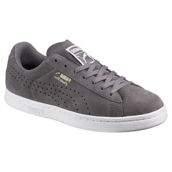 Court Star - Baskets en cuir - gris