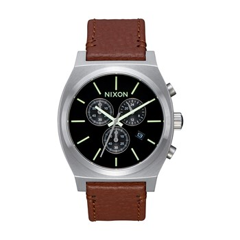 Time Teller Chrono - Montre en cuir - marron
