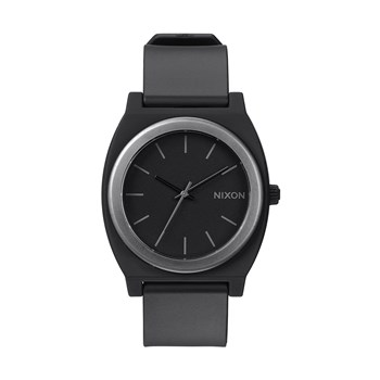 Time Teller P - Montre en silicone - denim noir