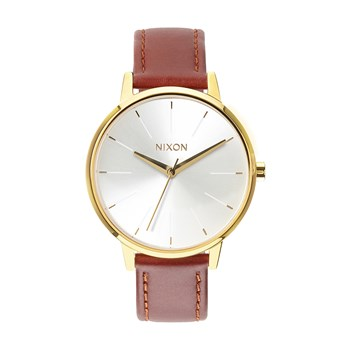 Nixon - Kensington - Montre en cuir - marron