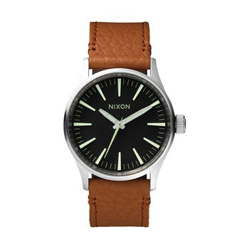 Sentry 38 - Montre en cuir - marron