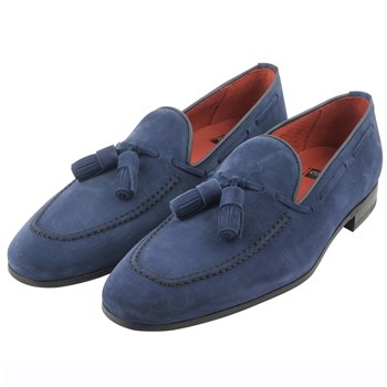 Harry - Mocassins en cuir - bleu