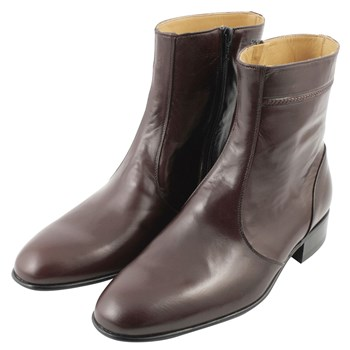 Bruce - Bottines en cuir - bordeaux