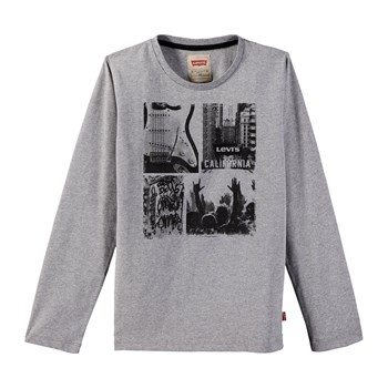 City - Camiseta de manga larga - gris
