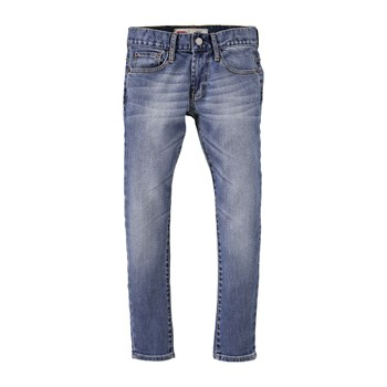 520 - Jean tapered - denim bleu