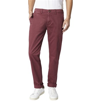 Sloane - Pantalon chino - bordeaux