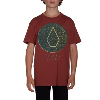 Cracked - T-shirt manches courtes - rouge