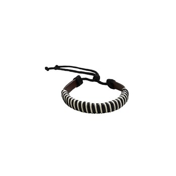 Bracelet cordon - marron