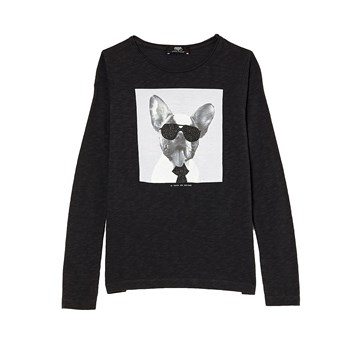 Vipdoggi - T-shirt manches longues - anthracite