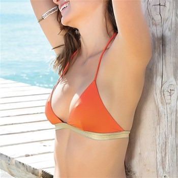 Lisa - Haut de maillot - orange