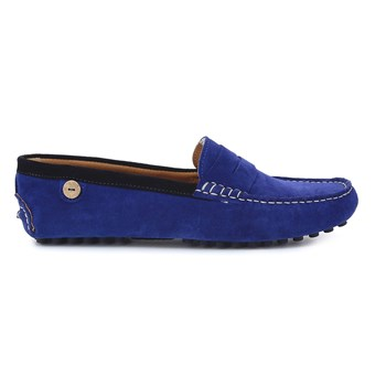 Palm - Mocassins en cuir - bleu