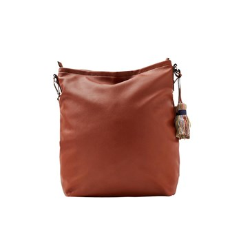Tate - Borsa hobo - marrone scuro