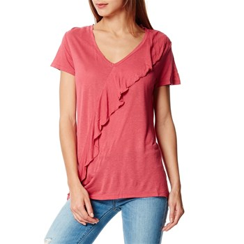 Top/tee-shirt - framboise