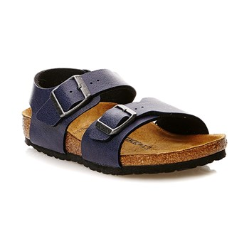 NEW YORK - Sandalen - marineblau