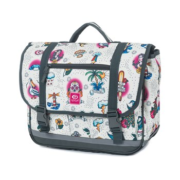 Satchel - Cartable, Sacoche - blanc