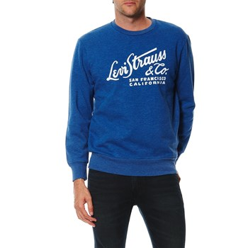 Graphic crew - Sweat-shirt - bleu canard
