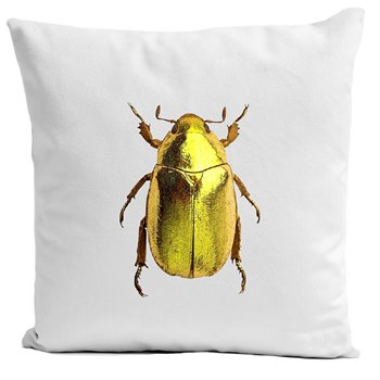 Insect II - Housse de coussin - blanc