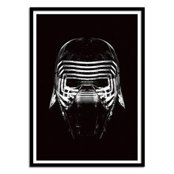 Wall Editions - Kylo Star Wars - Affiche art - noir