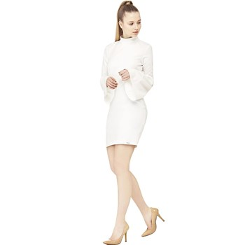 Guess - Robe moulante - blanc