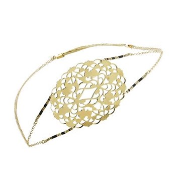 Arabesque - Headband - doré