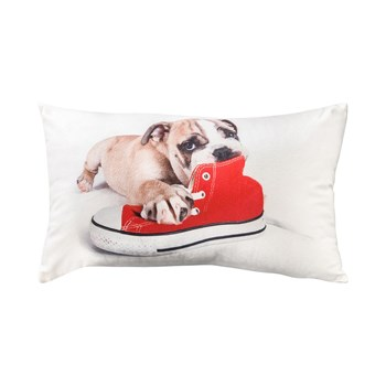 Doggy - Coussin rectangulaire - blanc