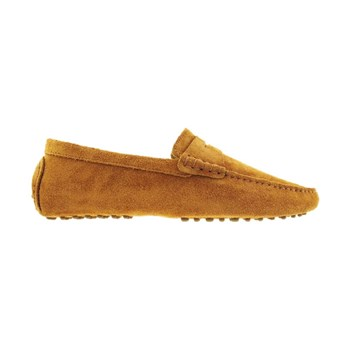 Mocassins en cuir - marron clair