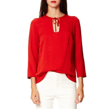 Caroll - lily - Blouse - rouge