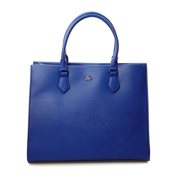 Shopping bag - blu classico