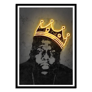 Wall Editions - Limited Edition 50 ex - King Notorious BIG - Affiche art 50x70 cm