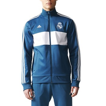 Real de Madrid - Sweat-shirt zippé - bleu