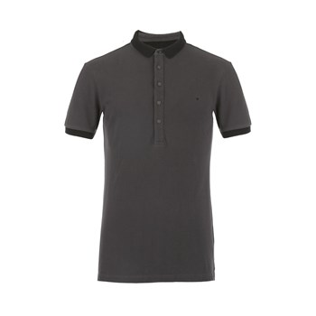 Polo manches courtes - anthracite