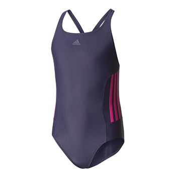 adidas Performance - Maillot 1 pièce - violet