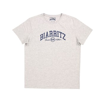 Biarritz City - T-shirt manches courtes - gris chine
