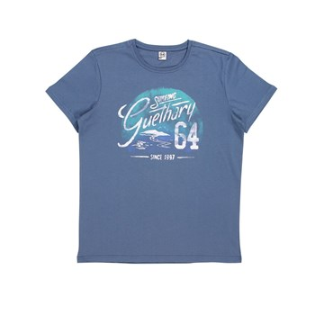 Surfing Guethary - T-shirt manches courtes - bleu