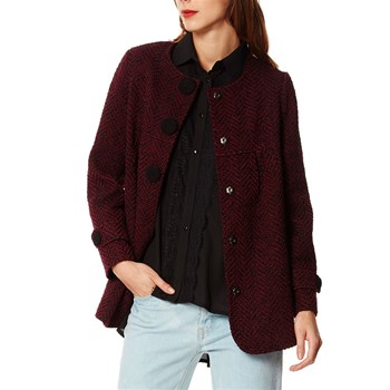 Manteau casual - rouge