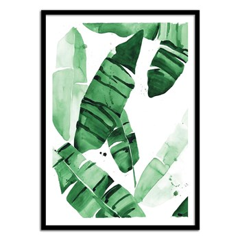 Wall Editions - Beverly Watercolor Plant - Affiche art 50 x 70 cm - vert