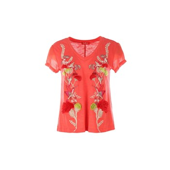 Janry - Top/tee-shirt - corail