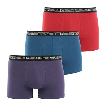 Lot de 3 boxers - tricolore