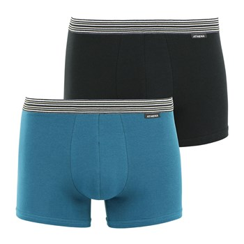Eco prix - Lot de 2 boxers - bicolore