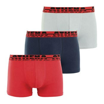 Easy Sport - Lot de 3 boxers - tricolore