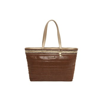 Shopping bag - marrone scuro