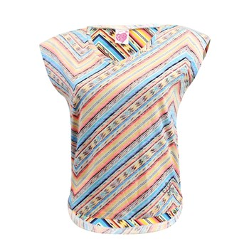 Mexican Stripes - T-shirt manches courtes - multicolore